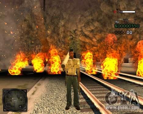 C-HUD Lite v2.0 for GTA San Andreas second screenshot