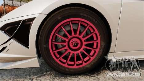 Lamborghini Gallardo LP570-4 Super Trofeo for GTA 4 back view