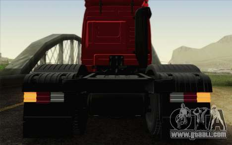 Mercedes-Benz Actros for GTA San Andreas inner view