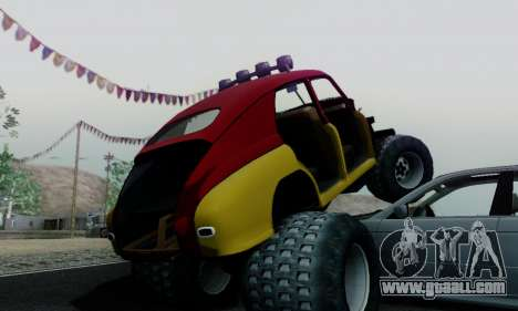 GAS M20 Monster for GTA San Andreas inner view