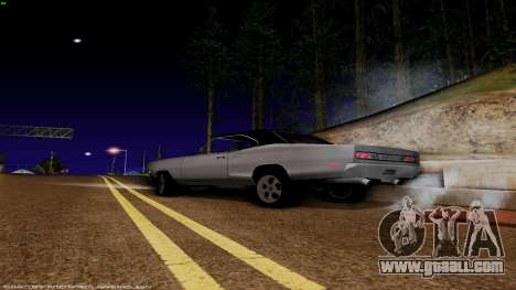 Dodge Coronet RT 1969 440 Six-pack for GTA San Andreas left view