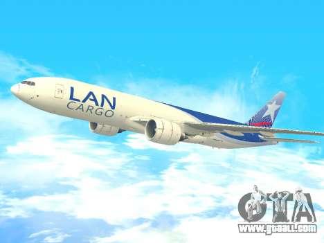 Boeing 777 LAN Cargo for GTA San Andreas