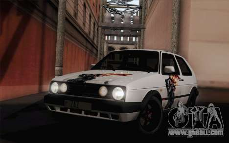 Volkswagen Golf 2 for GTA San Andreas