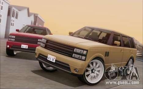Gallivanter Baller из GTA V for GTA San Andreas