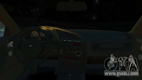 BMW M3 E36 328i for GTA 4 back view