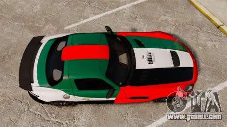 Mercedes-Benz SLS 2014 AMG UAE Theme for GTA 4 right view