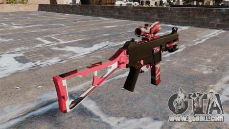 The submachine gun UMP45 for GTA 4 second screenshot