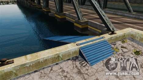 The road under the bridge for GTA 4 second screenshot