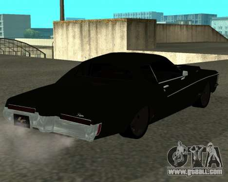 Buick Riviera 1972  Classic for GTA San Andreas left view