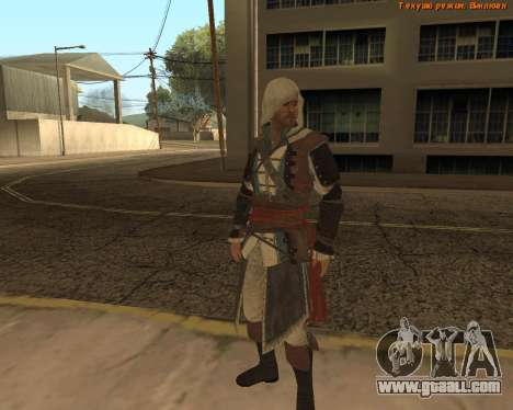 Assassin Edward for GTA San Andreas