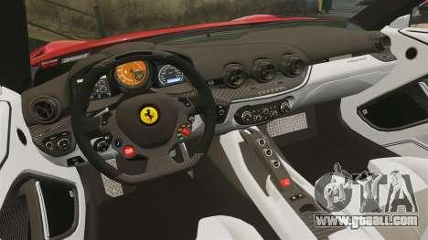 Ferrari F12 Berlinetta 2013 [EPM] Deaths-head for GTA 4 side view