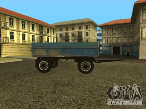 Trailer for ZIL 130 for GTA San Andreas left view