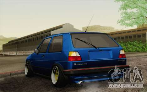 Volkswagen Golf MK2 LowStance for GTA San Andreas left view
