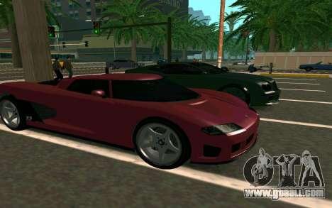 GTA V Entity XF for GTA San Andreas back view