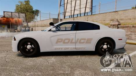 Dodge Charger 2011 LCPD [ELS] for GTA 4 left view