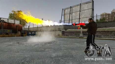 The flamethrower MX-295 for GTA 4 forth screenshot