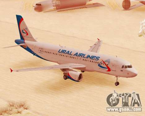 Airbus A320-200 Ural Airlines for GTA San Andreas