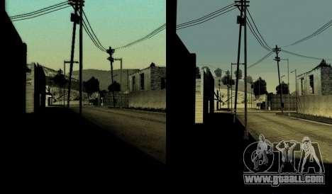 HD card, radar and menu for GTA San Andreas