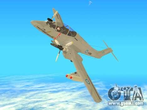 FMA IA-58 Pucara for GTA San Andreas right view
