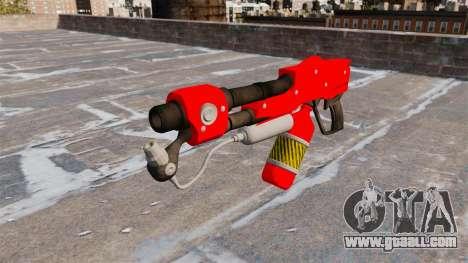 The flamethrower MX-295 for GTA 4 third screenshot
