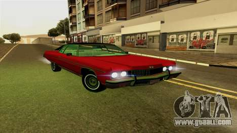 Chevrolet Caprice Coupe 1973 for GTA San Andreas