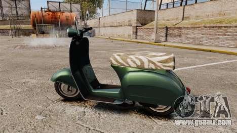 GTA IV TBoGT Pegassi Faggio for GTA 4 left view