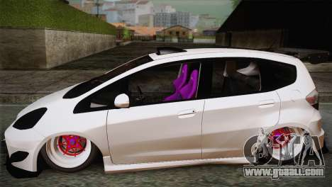 Honda Jazz RS Street Edition for GTA San Andreas left view