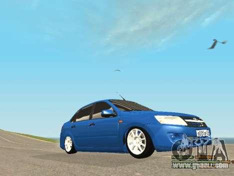VAZ 2190 for GTA San Andreas upper view