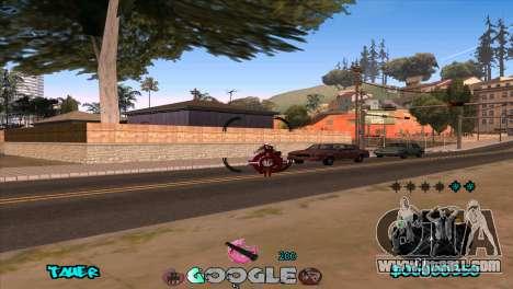C-HUD Google for GTA San Andreas fifth screenshot