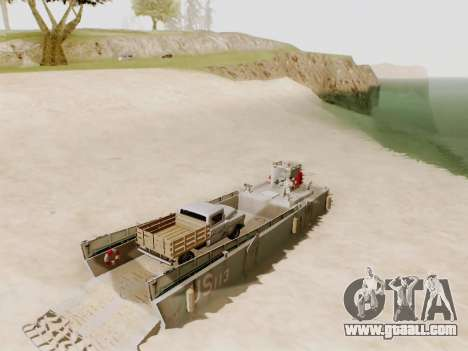 Landing Craft for GTA San Andreas upper view