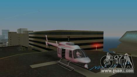 Maverick из GTA IN for GTA Vice City left view