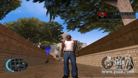 C-HUD Hitman Absolution for GTA San Andreas