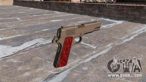 Guns Colt 1911 Chrome for GTA 4 second screenshot