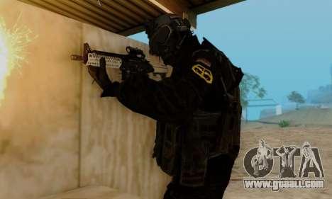 Kopassus Skin 3 for GTA San Andreas