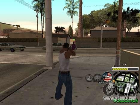 C-HUD Andy Cardozo for GTA San Andreas second screenshot
