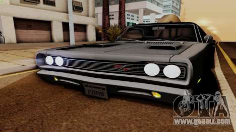 Dodge Coronet RT 1969 440 Six-pack for GTA San Andreas side view