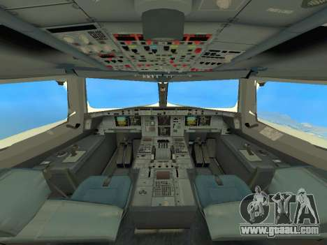 A380-800 Hainan Airlines for GTA San Andreas inner view