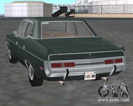 AMC Matador 1972 for GTA San Andreas back left view