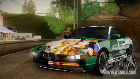 BMW M8 Custom for GTA San Andreas upper view