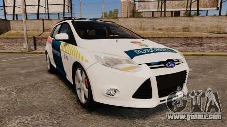 Ford Focus 2013 Hungarian Police [ELS] for GTA 4