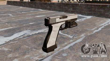 The pistol Glock 20 ACU Digital for GTA 4 second screenshot