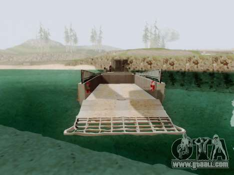 Landing Craft for GTA San Andreas back left view