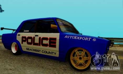 VAZ 2107 Drift for GTA San Andreas right view
