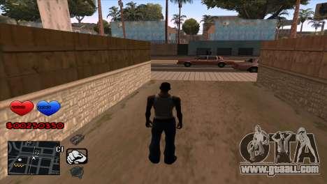 C-HUD for GTA San Andreas