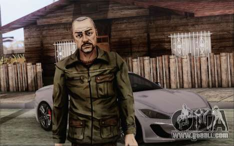 Pete from Walking Dead for GTA San Andreas
