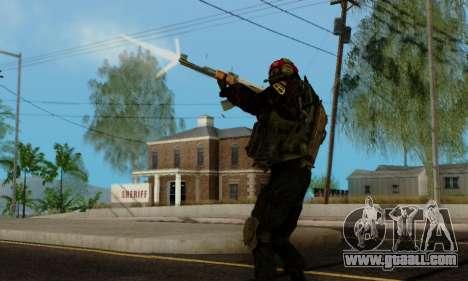 Kopassus Skin 1 for GTA San Andreas tenth screenshot