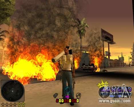 C-HUD Old Ghetto for GTA San Andreas third screenshot