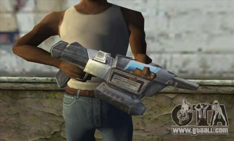 The rifle from Star Wars for GTA San Andreas third screenshot
