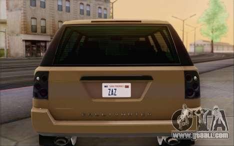 Gallivanter Baller из GTA V for GTA San Andreas interior