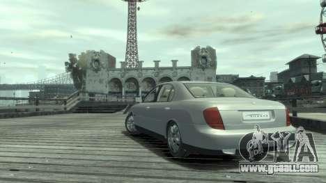 Daewoo Shiraz for GTA 4 right view